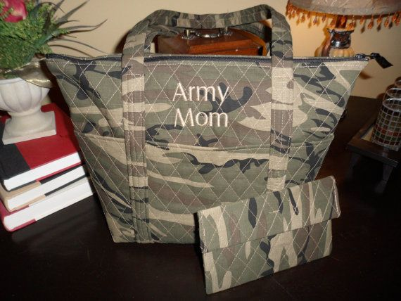 Reserved for Lisa C  Army Mom custom quilted 12 by starlenedesigns, $50.00