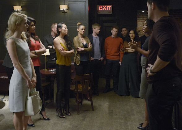 Quantico Season 1 Photos Tv Guide Graham Rogers Anabelle Acosta