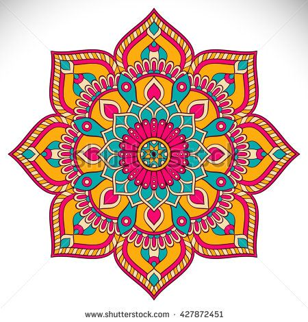 Mandala Coloring Vector Collection