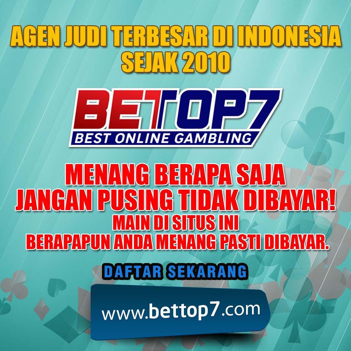 Pin On Bettop7 Com Agen Judi 2019 Terpercaya Di Indonesia