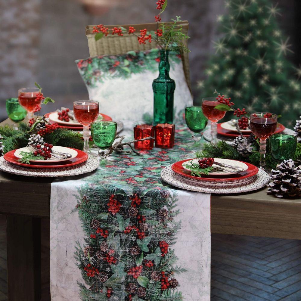 tischl ufer weihnachten x mas bouquet sander tischw sche. Black Bedroom Furniture Sets. Home Design Ideas