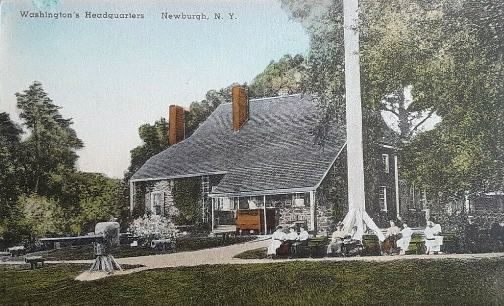 Postcard C 1900 S Newburgh Ny General George Washington S Hq Hand Colored Ebay In 2020 Newburgh Ny State Parks Ny Newburgh