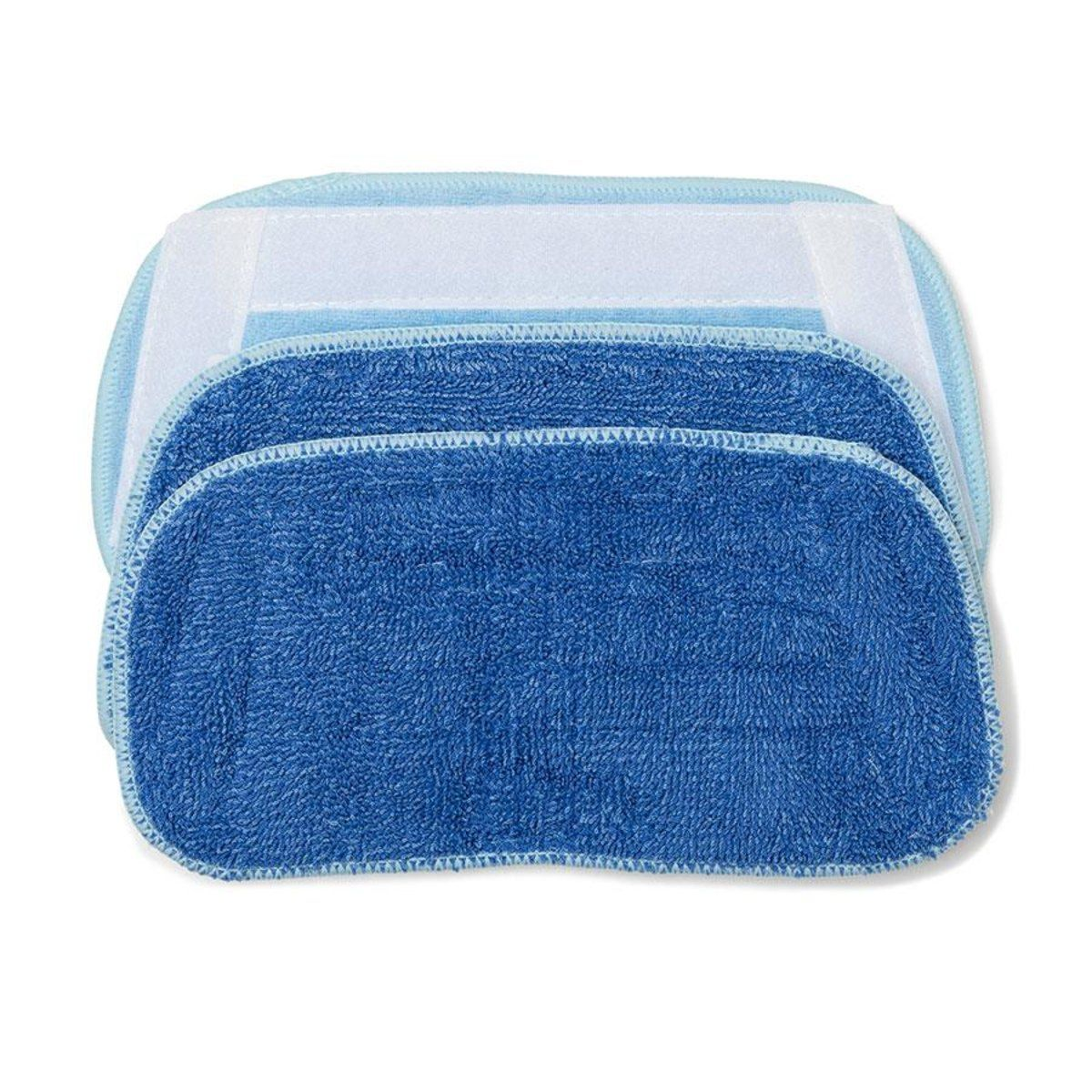Steam Mop Replacement Pads Set Of 3 Kmart Steam Mop Cleaning Equipment Mops And Brooms