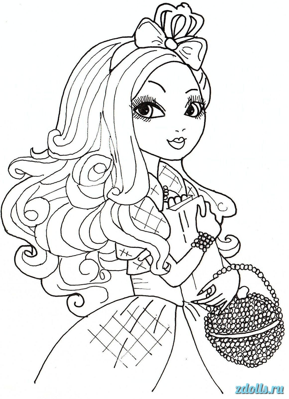 Print ever after high coloring pages free ever after high coloring sheets coloring books