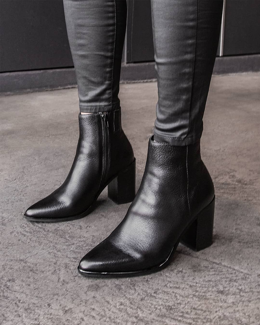 b099d19cf07 The perfect little black boot just got better with LORNE! #JoMercer ...