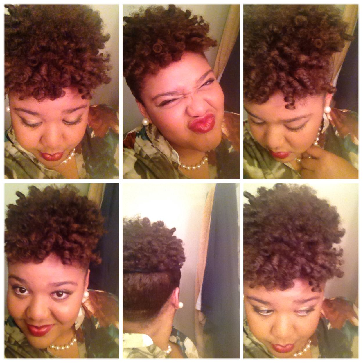 Perm rods updo natural hair and hairstyles pinterest perm rods updo pmusecretfo Image collections