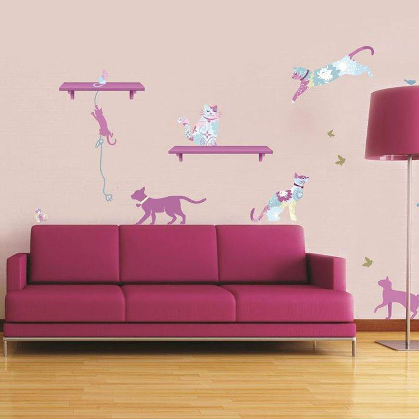 Art Applique By Kmg Patterned Pets Decorative Wall Decal Beyond