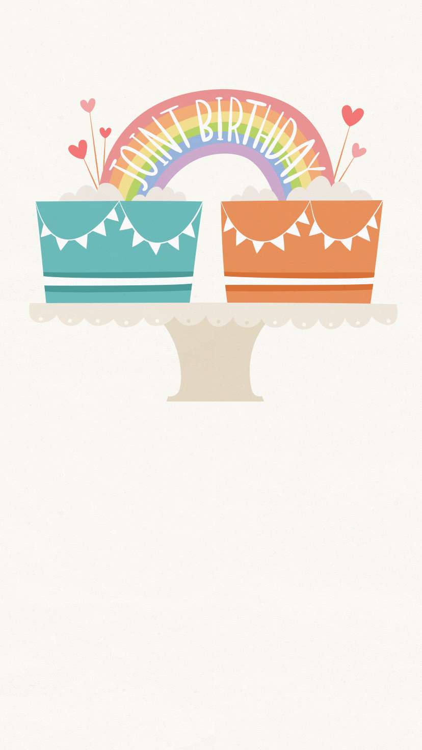 Celebrating A Joint Birthday Plan Ahead With This Free Paperless Evite Invitation