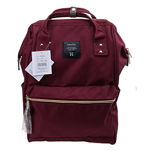Anello Ruby Red Japan Unisex Fashion Backpack Rucksack Diaper Travel Bag