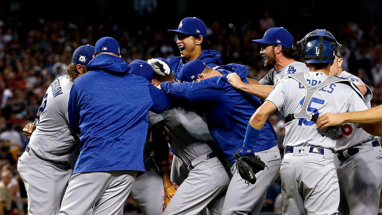 Dodgers sweep Dbacks for return trip to NLCS Baseball