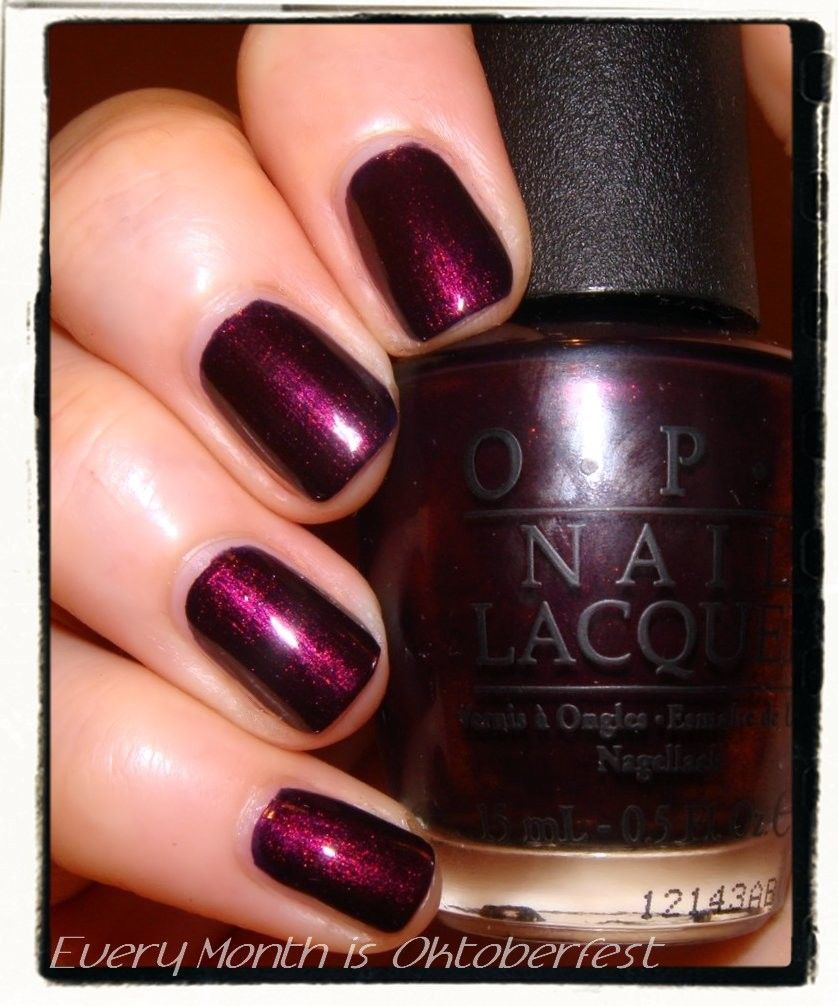 Nailderella: OPI Germany2012: Every day is Oktoberfest | Tips and ...