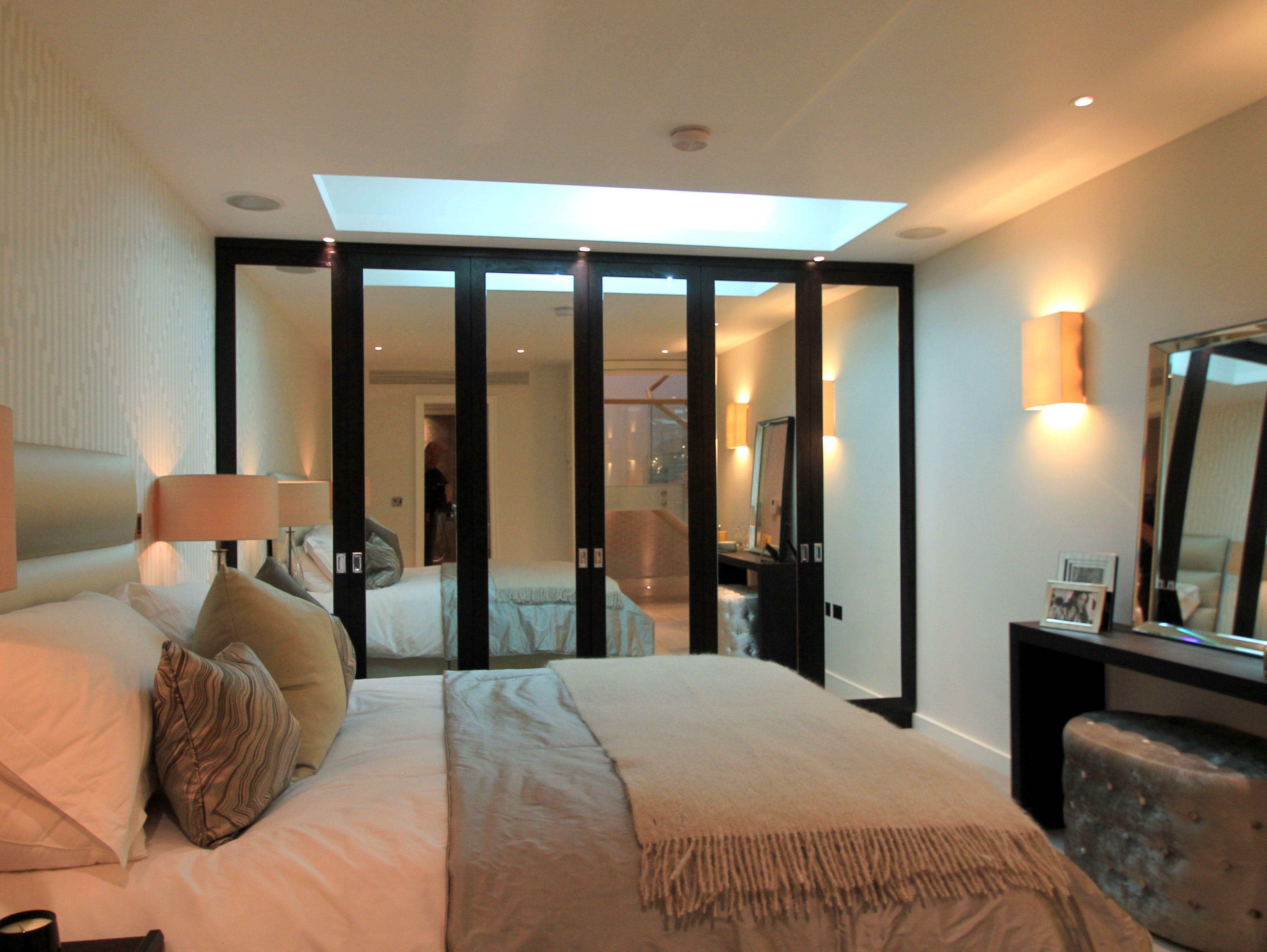 Parans sp3 brings direct sunlight into a london basement bedroom basement ideas pinterest for Basement to bedroom conversion
