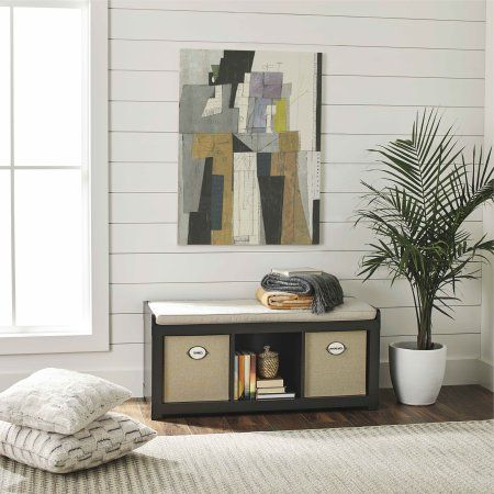 ed7938ea5ce589adbe452bae30aca1a9 - Better Homes And Gardens 3 Cube Organizer Bench With Cushion
