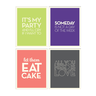 Witty Worded Posters