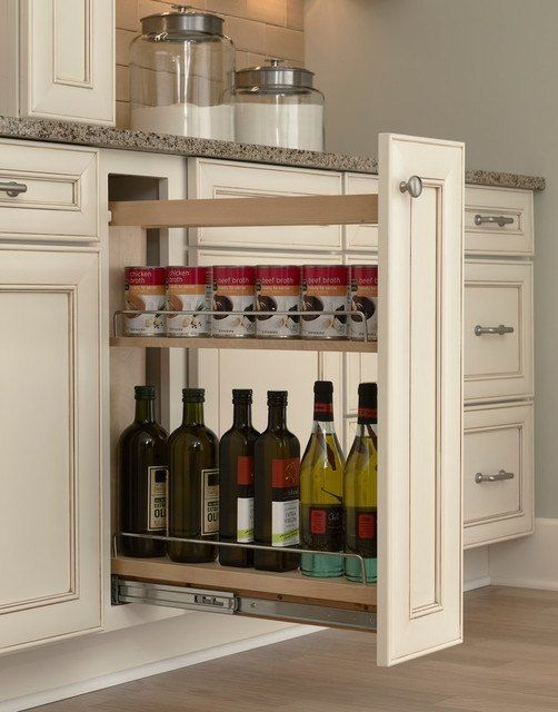 Hidden Kitchen Storage Turn A Filler Panel Into Pull Out Cabinet Cabinets Design Organizing Ideas Woodworking Projects