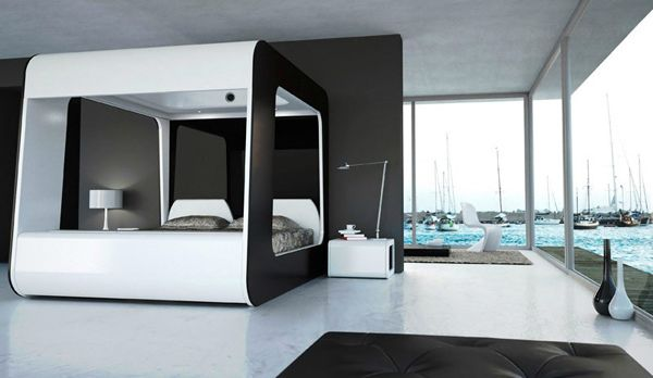 Design Und Nutzen Perfekt Kombiniert Hightech Bedroom Is This - High tech bedroom design