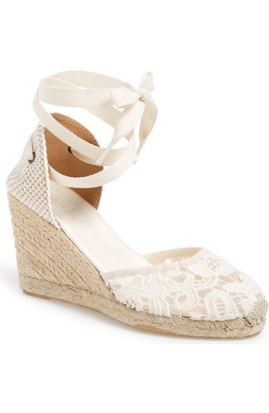 23b7346d5d8a Soludos Lace Wedge Espadrille Sandal (Women) available at  Nordstrom ...