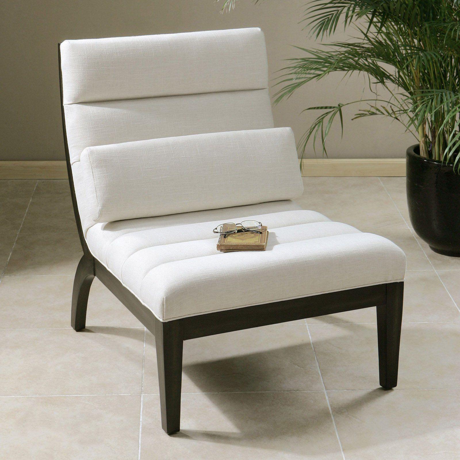 uttermost berlynn modern armless accent chair hayneedle