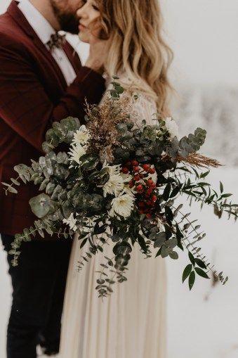 Styled Shoot // Eine verschneite und romantische Winterhochzeit   – Winter wedding wonderland