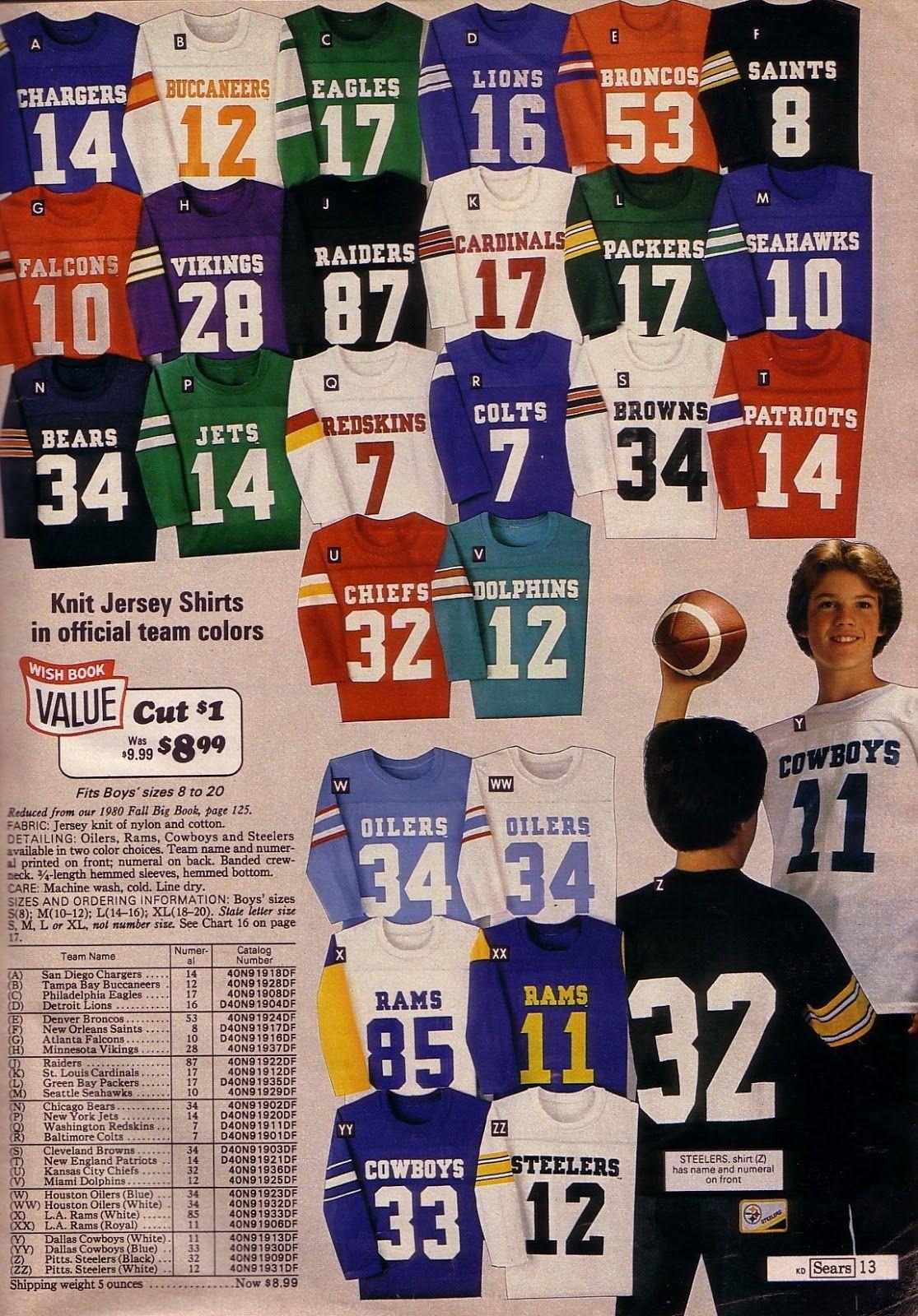 nfl football jerseys for kids