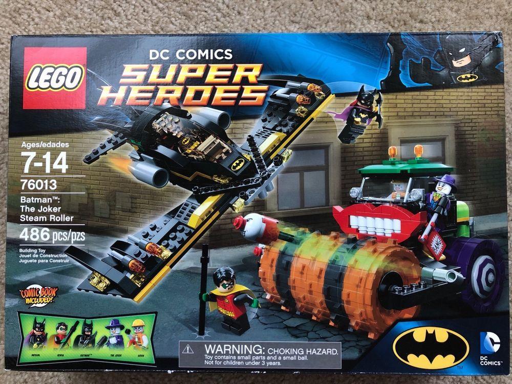 LEGO Batman The Joker Steam Roller (76013) Batman sets