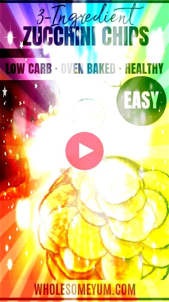Chips Recipe  Wholesome Yum Healthy Oven Baked Zucchini Chips Recipe  No Breading  This healthy baked zucchini chips recipe is so easy Learn how to make zucchini chips wi...