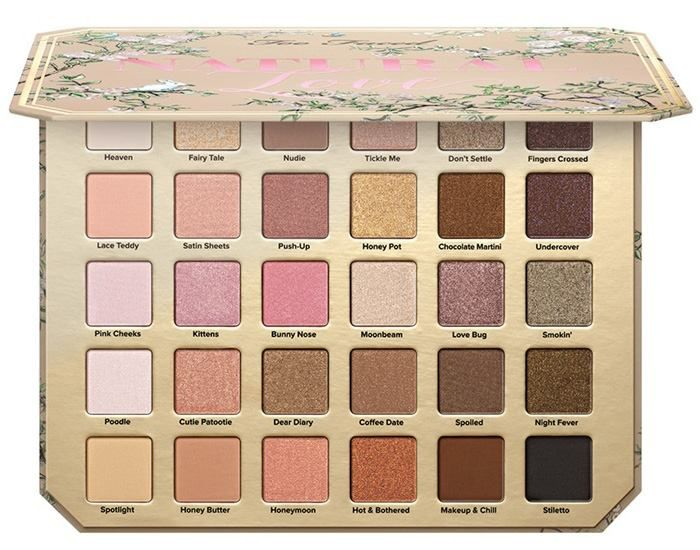 Too Faced Summer 2017 Natural Love Palette Beauty Trends And