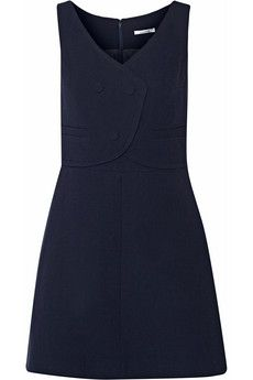 Carven Wool-crepe dress | THE OUTNET
