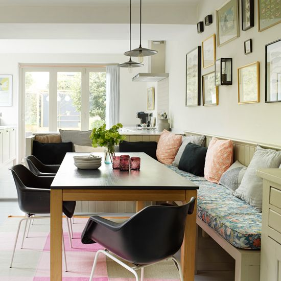 Kitchen-Diners That Are Rocking A Bench Seat | Bench Seat, Diners