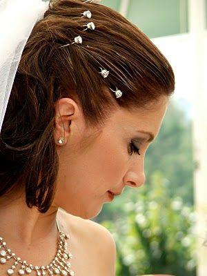 Pretty Wedding Hairstyles Pinterest