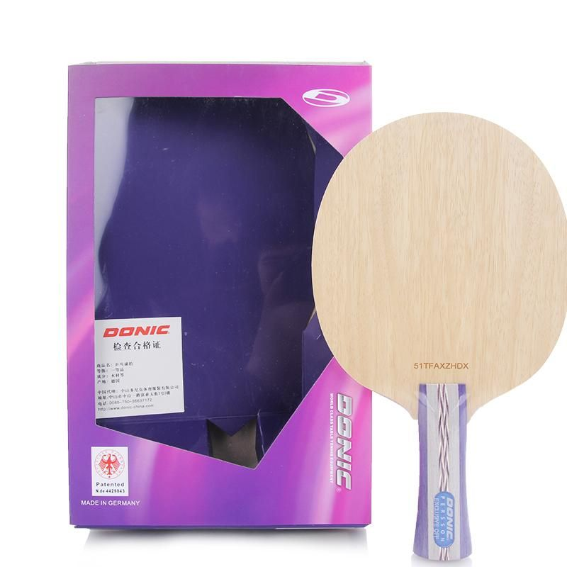 Donic Persson Exclusive 5 Ply Pure Wood Racket Table Tennis Blade Ping Pong Bat Tenis De Mesa Table Tennis Table Tennis Racket Ping Pong