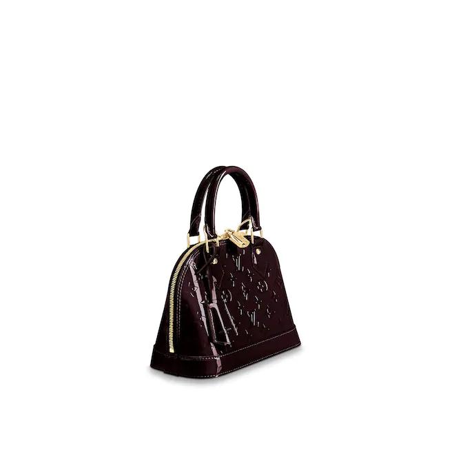 Alma Bb Monogram Vernis Leather Handbags Louis Vuitton In 2020 Louis Vuitton Alma Bb Louis Vuitton Lady Dior Bag