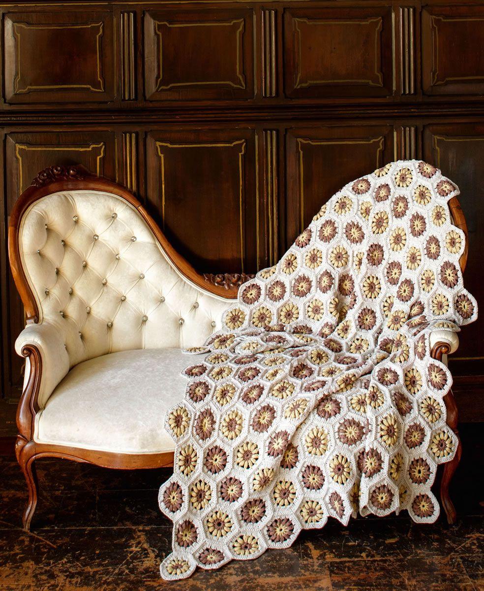 Decke Aus Sechseck Motiven Organico Hexi Blanket Pinterest