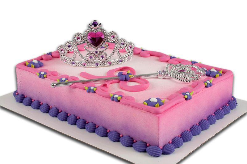 Princess Birthday Sheet Cakes
