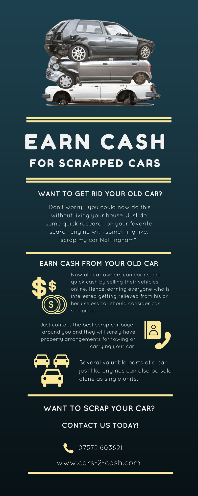 Old car owners can earn some quick cash by selling their old cars ...