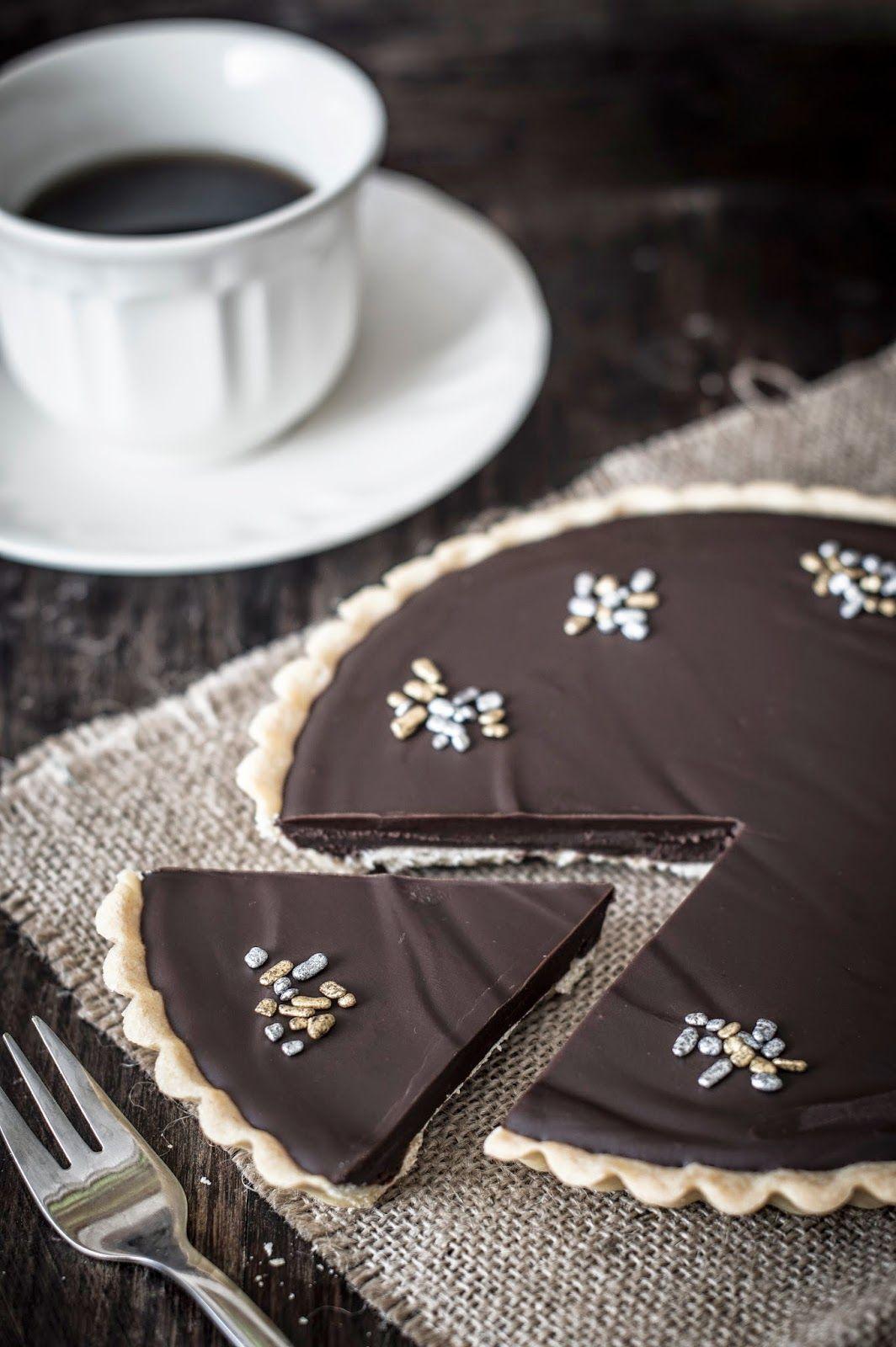 Tarta de chocolate especiada   Torta de chocolate com especiarias
