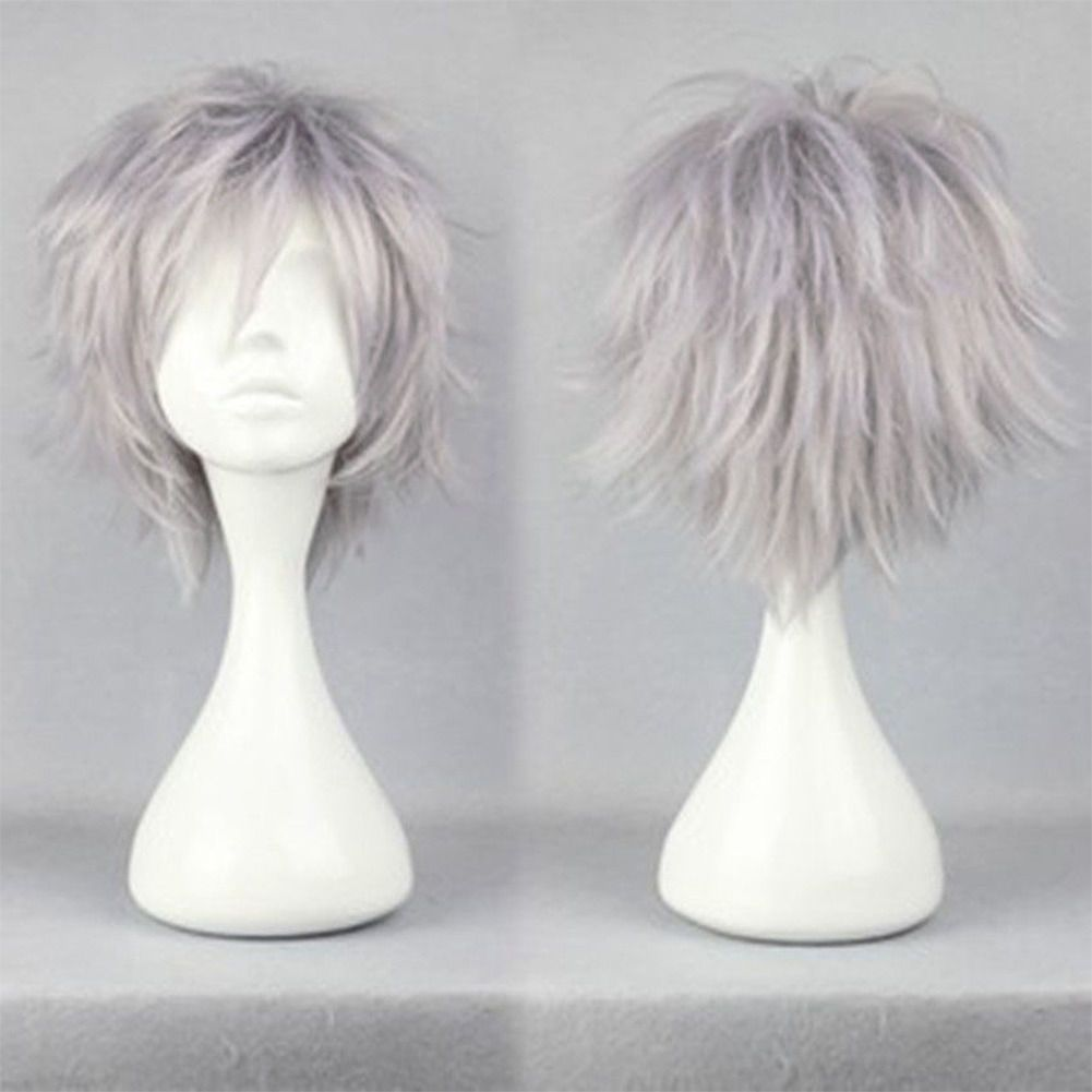 Details about uk stock women anime short wig cosplay party