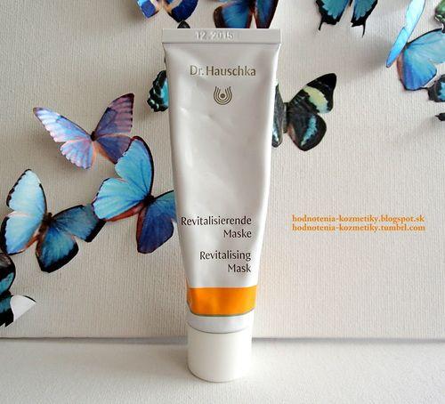 Hodnotenia kozmetiky: Dr. Hauschka - revitalizačná pleťová maska