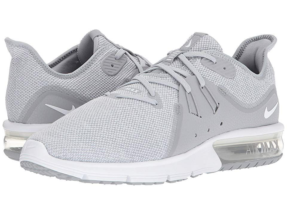AIR MAX SEQUENT 2 Neutral running shoes pure platinumwhite