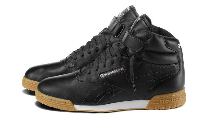 reebok classic leather high tops black