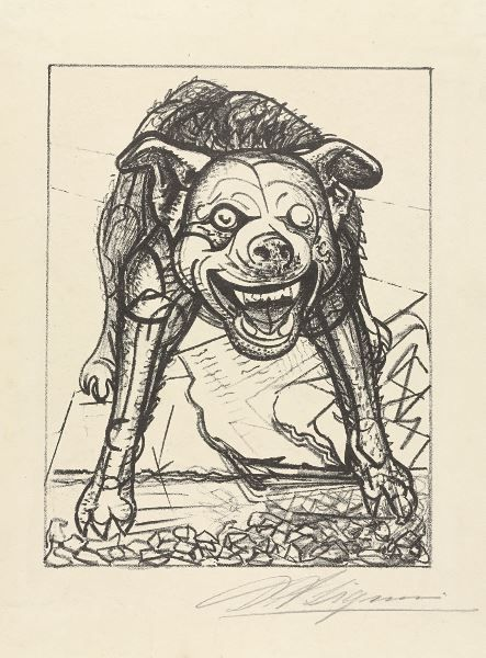 chimneyfish:  Guardian of the Peace, 1945  David Alfaro Siqueiros