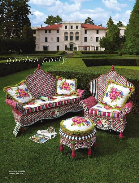 Mackenzie Childs Garden Furniture