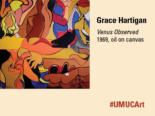 Grace Hartigan, a member of the abstract expressionist movement in New York City along with Willem de Kooning and Jackson Pollock, was a respected faculty member at the Maryland Institute College of Art (MICA) from 1965–2007.