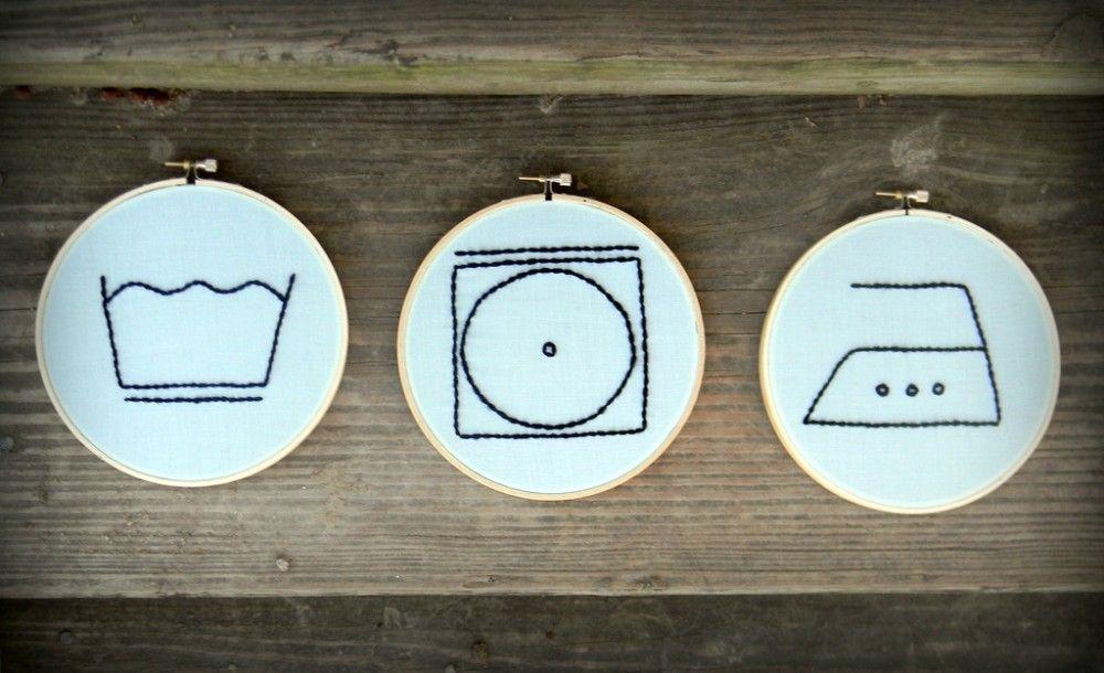 En enkel guide till tvättsymboler och tvättråd. Klicka här
