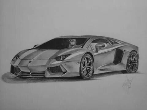 Lamborghini Aventador My Drawing Sports Cars Luxury My Drawings Lamborghini