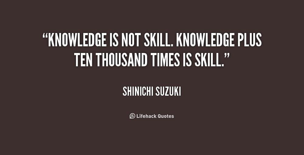 Shinichi Suzuki Quotes Music