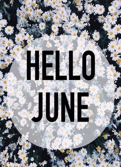 Hello June Birth Month Born Gemini