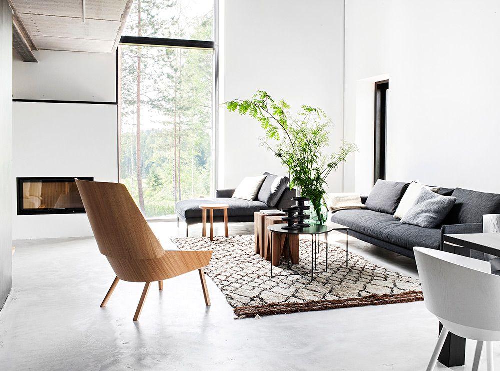 Deko-talo Maja u2013 Olohuone u2013 Ellitfi Decor Ideas Pinterest - deko modern living