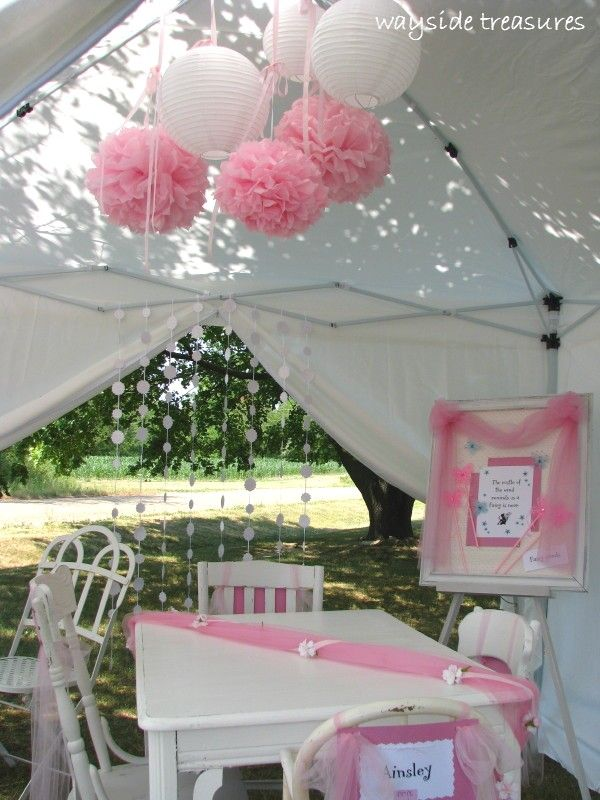 Wayside Treasures Fairy Party part two Remmis first birthday