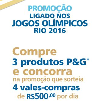 Patrocinador Mundial - Promoção ligado nos Jogos Olímpicos Rio 2016!